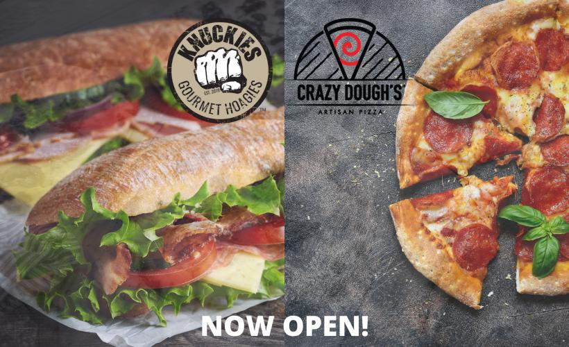 Knuckie's Gourmet Hoagies & Crazy Dough's Pizza